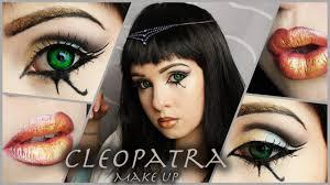 cleopatra halloween makeup cleopatra makeup fasching egypt makeup karneval youtube