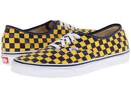 vans authentic golden coast dress blues yellow checker women u0027s
