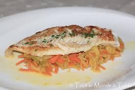 cuisiner filet de julienne filet d églefin sauce à l orange et sa julienne de légumes tout le