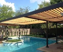 pool shade ideas pergola over the pool a wonderful choice pool