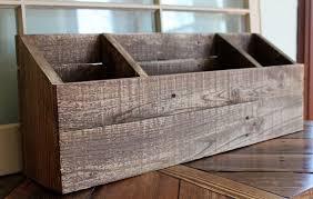 Desk Sorter Organizer Wood Organizer Desktop Office Storage Desk Sorter Wood Mail