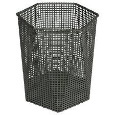 modernist cubic wastepaper bin in style of josef hoffmann for sale