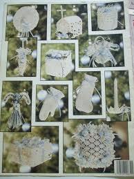 second silver victorian christmas ornaments book 2 crochet