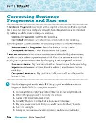 correcting sentence fragments worksheet free worksheets library