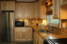Maple Kitchen Cabinets Kitchen Counters Granite Countertops Custom Stained Flooring