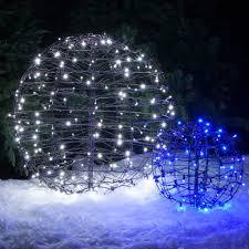 light balls for outside trees outdoor
