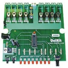 8 channel dc light controller kit available at electronic kits