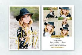 senior graduation announcement templates senior graduation announcement 009 invitation templates
