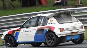 peugeot 205 peugeot 205 t16 evo 2 group b replica monster accelerations on