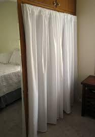 Shower Curtain For Closet Door Closet Curtains Free Home Decor Techhungry Us