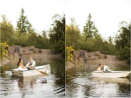 Rock Creek Gardens Wedding Canoe Ride Venue Rock Creek Gardens In Puyallup Wa
