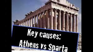 2e causes of the peloponnesian war youtube