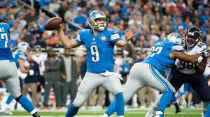 stafford on point in detroit lions thanksgiving win chicago