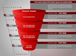 funnel diagrams a powerpoint template from presentermedia com