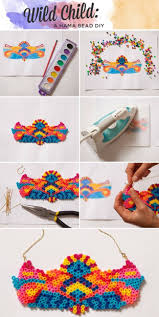 235 best hama beads collane images on pinterest hama beads