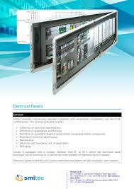 brochure electrical panels smi pdf catalogue technical