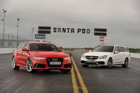 audi rs6 vs audi rs6 avant vs mercedes e63 amg auto express