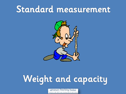 ks1 maths measurement weight and capacity powerpoints activities