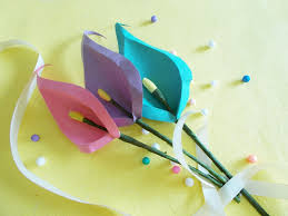 Easy Crafts To Decorate Your Home Diy Paper Crafts How To Make Paper Calla Leaves For Your Home