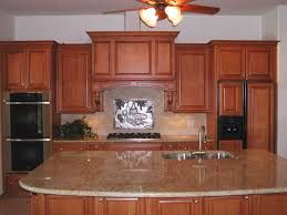 bathroom lowes counter tops with ceiling fan and tile backsplash