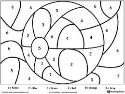 preschool coloring pages with numbers drawing worksheets for preschoolers at getdrawings com free for