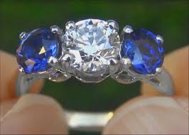 tiffany stone rings images Tiffany company vs1 e diamond cornflower blue sapphire jpg