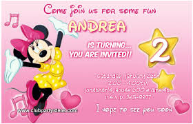 mouse pink birthday invitations printable free