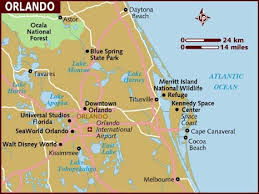 map usa lonely planet map of orlando