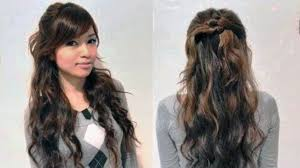 easy curly hairstyles for straight hair hairstyle picture magz