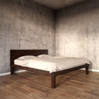 Boerum Bed Frame Hyperrealistic 3d Models And Textures Turbosquid