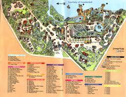 Cedar Fair Parks Map Park Maps