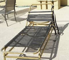 Repair Webbing On Patio Chair Pool Furniture Vinyl Strapping Replacements In Tampa Florida