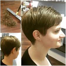 short haircut with ear showing 20 easy short pixie haircuts for round faces styles weekly