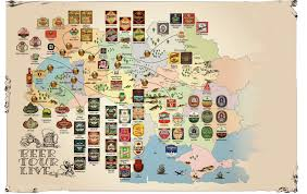 Beer Map The Ukrainian Week