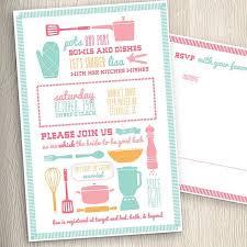 kitchen bridal shower invitations reduxsquad com