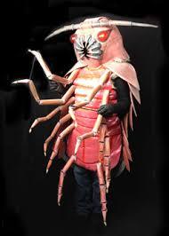 Halloween Bug Costumes Giant Isopod Creepy Halloween Costume Wiggling Legs