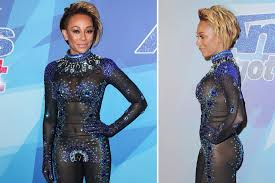 M El Mel B U0027s Barely There Bodysuit And More Star Snaps Page Six