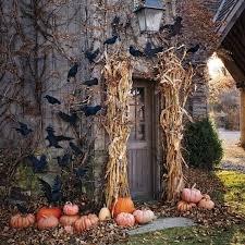Home Ideas Decorating Best 25 Halloween Porch Decorations Ideas On Pinterest