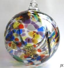 86 best witch balls blown glass images on glass