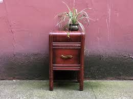 Art Deco Waterfall Nightstand Sold Items U2014 Rerunroom Vintage Furniture Home Decor