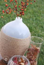 Fall Vase Ideas Fast And Frugal Fall Decor Onecreativemommy Com