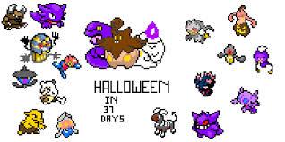 halloween pixel art pokemon images pokemon images