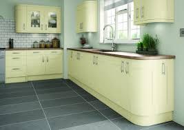 cream hand painted shaker kitchens
