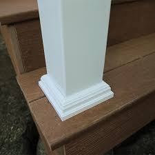 What Is A Banister On Stairs How To Build A Deck Composite Stairs And Stair Railings