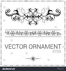 vector floral ornament border stock vector 397588876