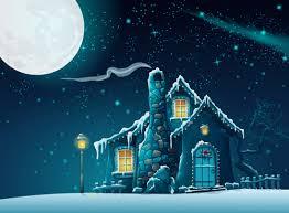 pictures of cartoon haunted houses halloween haunted house with moon cartoon vector vector cartoon