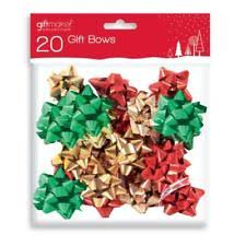 christmas bows for presents christmas gift wrapping bows ebay