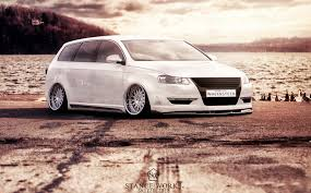 passat wagon stanced volkswagen passat wagon by sk1zzo on