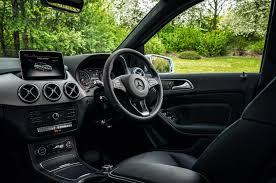 mercedes a class vs b class mercedes b class interior autocar