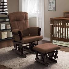 Nursery Rocking Chairs With Ottoman The Images Collection Of Rocking Chair And Ottoman Brown
